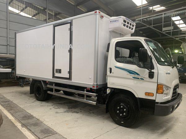 xe tải đông lạnh 110sp tải trọng 7 tấn