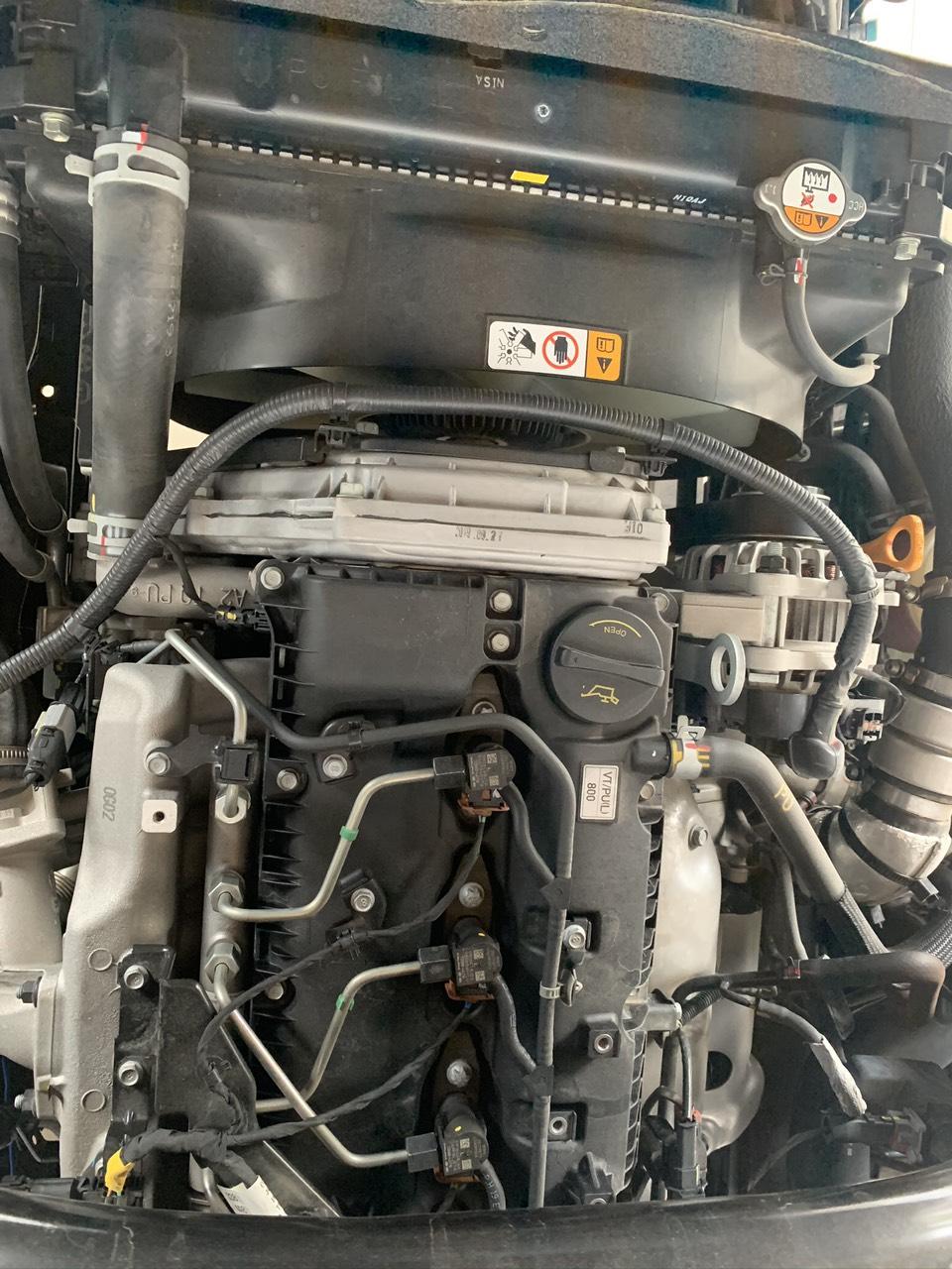 Động cơ xe tải hyundai 2.5 tấn